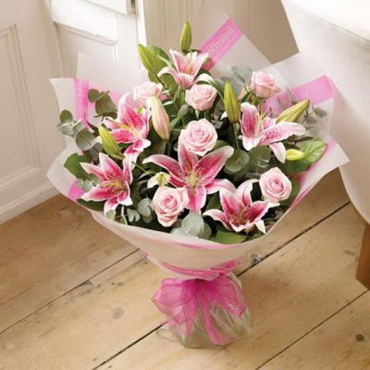 Букет цветов в подарок на свадьбу 84
